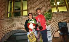 Marta Martín y Luis Alberto Serrano mandan en la carrera Nocturna Olmedo