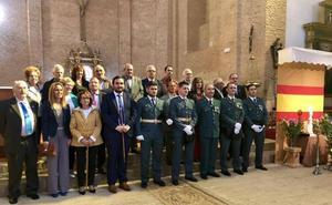 Tierra de Campos acompaña a la Guardia Civil en la fiesta del Pilar