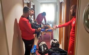 El Ayuntamiento no abre las instalaciones de Las Pistas y los jugadores de Unionistas se tienen que cambiar en un hotel