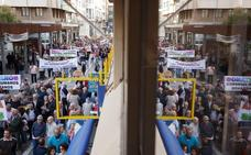 Unas 1.500 personas se manifiestan en Zamora en contra de la proliferación de explotaciones de porcino