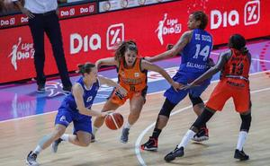 El campeón Avenida arranca sin concesiones ante el Valencia Basket (57-69)