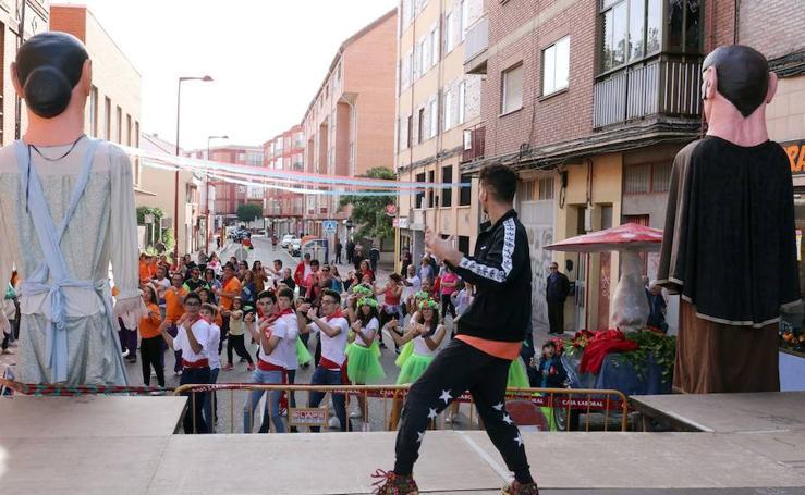 Fiestas en el barrio de la Pilarica de Valladolid