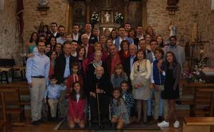 Santibáñez de la Sierra homenajea a Evaristo Berrocal Santos por su centenario