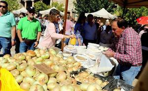 La Feria de la Cebolla en Palenzuela, una cita para este domingo