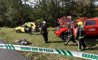 Tres muertos en un accidente de tráfico en A Coruña