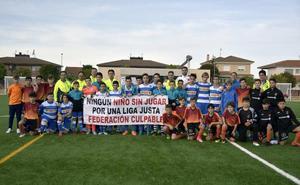 Fin de semana de protesta en el Cabrerizos CF para pedir igualdad para tres equipos alevines