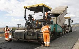 Comienzan las obras en los 62 kilómetros más castigados de la A-67