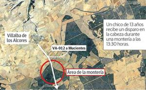 Muere un chico de 13 años al recibir un «disparo fortuito» de rifle en una cacería en Villalba