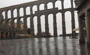 Segovia registra la racha más fuerte de viento que deja Lesley en España: 112 kilómetros por hora