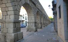 La parte medieval del Acueducto es la prioridad del futuro plan de mecenazgo