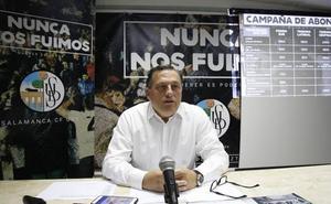 Carlos Martín presenta su dimisión como presidente del Salamanca CF UDS y el mexicano Manuel Lovato toma el mando