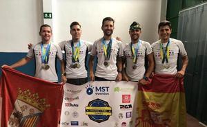 Brillante participación del equipo de la Policía Local de Salamanca en los VII Juegos Europeos de Policías y Bomberos