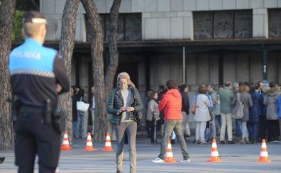 El colegio Apostolado de Valladolid despide al alumno que murió en una cacería en Villalba