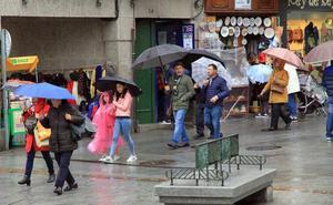 Las temperaturas mínimas se desploman 12,6 grados en Segovia