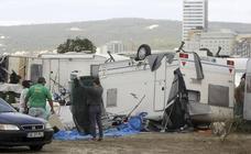 El paso del huracán Leslie deja destrozos en España, Portugal y Francia