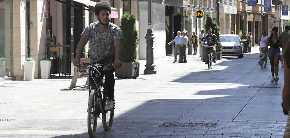 El Ayuntamiento de Palencia estudia un plan ciclista con rutas que conectarán toda la ciudad