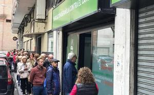 Largas colas para inscribirse en la Marcha Contra el Cáncer de Valladolid