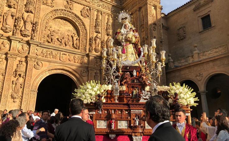 Procesión del Rosario en Salamanca