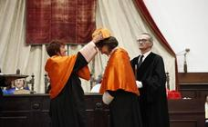 La USAL inviste como doctora honoris causa a Rebeca Grynspan