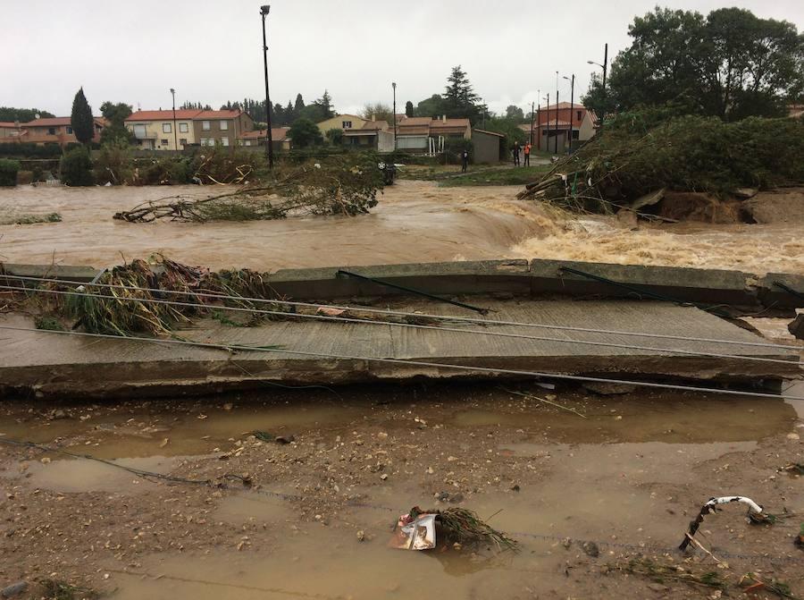 Al menos 13 muertos por las inundaciones en el sur de Francia
