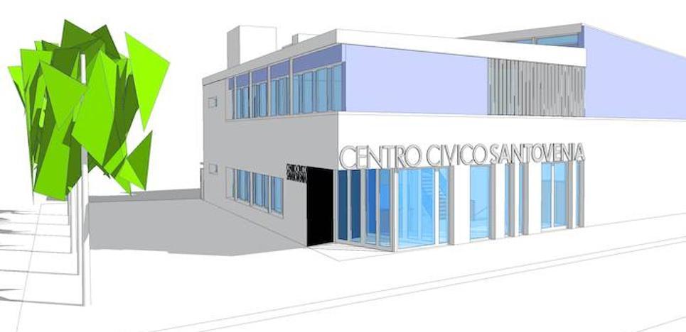 Santovenia tendrá un centro cívico tras una inversión de 1,4 millones