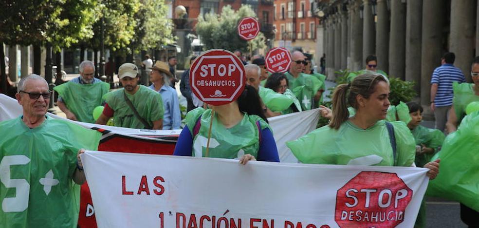 Las 5.458 demandas de las cláusulas suelo de Valladolid obligan a señalar vistas para marzo de 2019