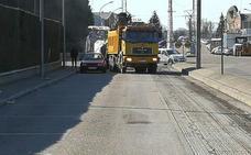 Un mes de continuas obras de asfaltado en la ciudad de Palencia