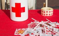 Cuestación de la Cruz Roja en Valladolid