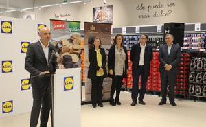 Lidl alcanza los 40 empleados en Palencia con el nuevo supermercado