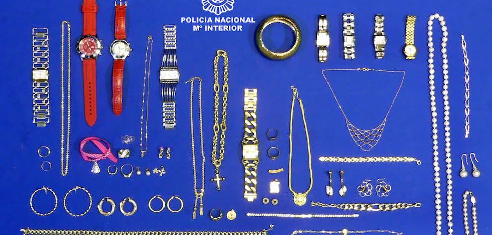 Detenida una pareja por el robo de joyas en un domicilio de Valladolid valoradas en 115.000 euros