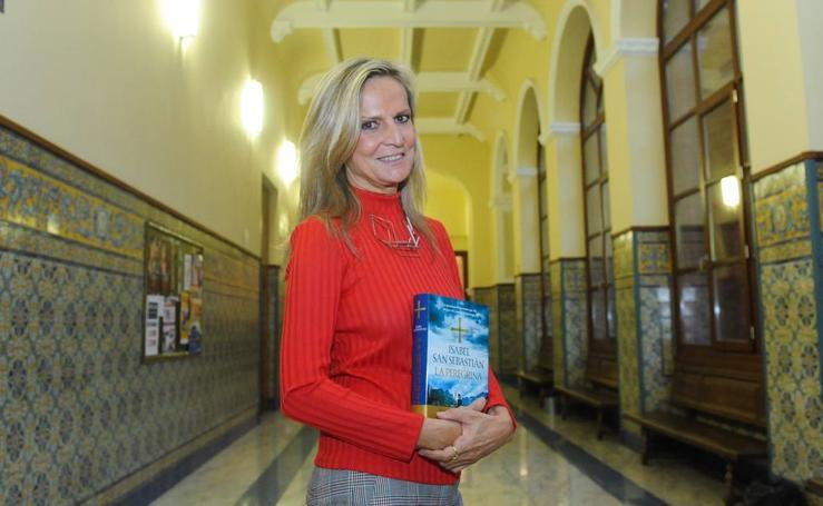 Isabel San Sebastián, en el Aula de Cultura de El Norte de Castilla