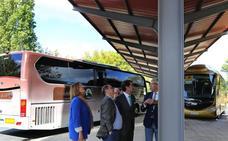 Una inversión de 142.000 euros mejora la estación de autobuses de Guardo