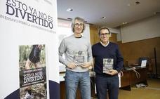 El técnico salmantino Juan García presenta su quinto libro 'Esto ya no es divertido'