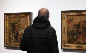 La sala de Las Francesas reúne pintura religiosa de los siglos XV al XVIII