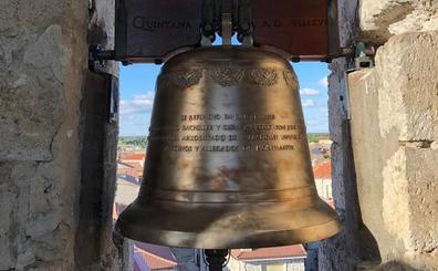 Montemayor recupera los tañidos tras cuatro meses de restauración de su campana