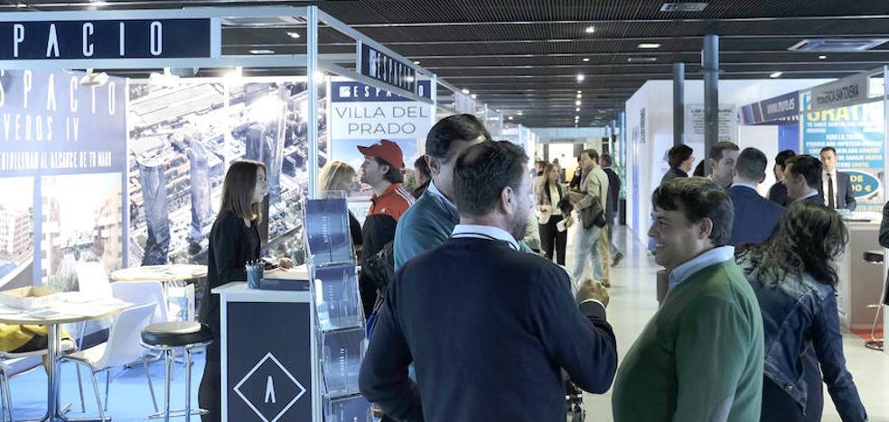 La Feria Inmobiliaria arranca con una mayor oferta de vivienda nueva en Valladolid y en la provincia