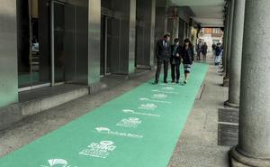 Valladolid extiende su alfombra verde para recibir a las estrellas del cine