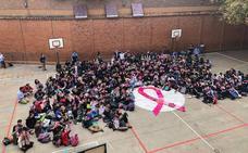 El colegio Santa Teresa de Jesús de Valladolid se une a la lucha contra el cáncer de mama