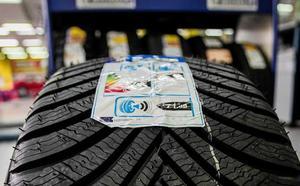 Investigados por el robo de 799 ruedas, 2.000 litros de aceite y tres vehículos en Palencia