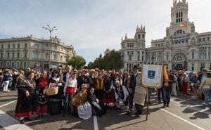 La trashumancia abulense llenará este domingo las calles de Madrid