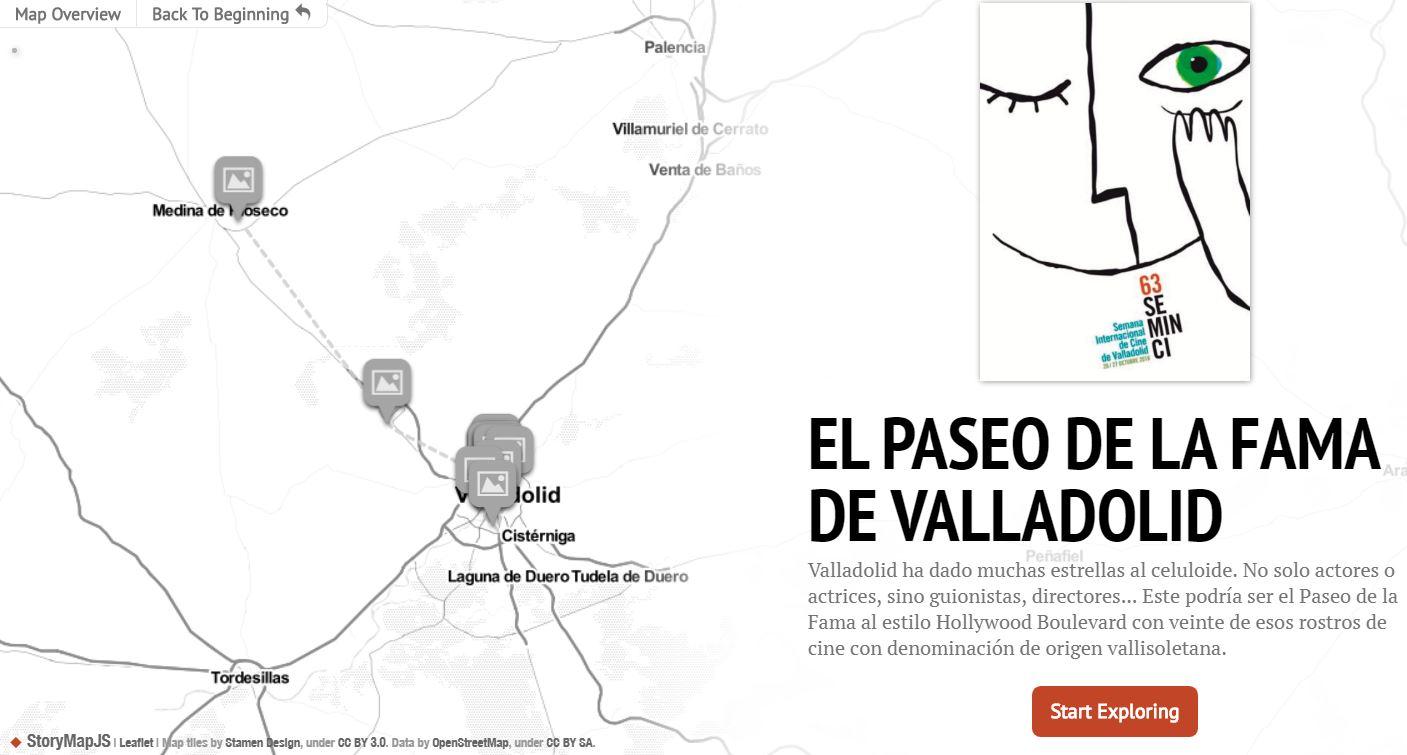 Valladolid da para un paseo de las estrellas del cine