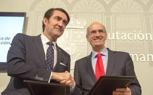 Junta y Diputación cooperarán para que 213 pueblos puedan tener normas urbanísticas