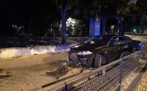 Un conductor novel se sale de la vía y da positivo en alcohol en la avenida Salamanca de Valladolid