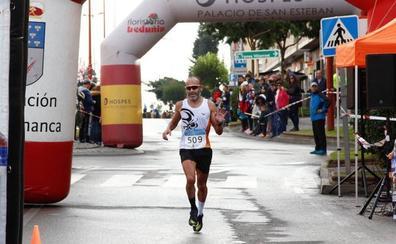 Enrique Merchán y Verónica Sánchez vencen en la Media Maratón de la Diputación de Salamanca