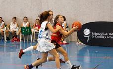 Fanatic Mini de baloncesto femenino de Castilla y León en Salamanca