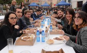 La caldereta popular inaugura el calendario festivo de Cantimpalos
