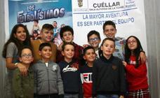 Protagonistas de «Los Futbolísimos» visitan Cuéllar