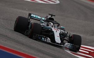 Räikkönen gana y Hamilton debe esperar