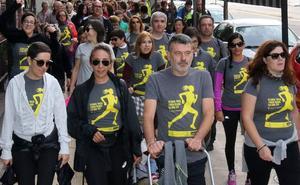 1.300 personas participan en la marcha y la carrera en favor del Banco de Alimentos