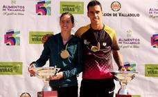 Rubén Sánchez y Alicia Diago se hacen con el Circuito Corriendo Entre Viñas